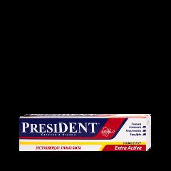 Зубная паста PresiDENT Extra Active (Объем 30 мл) зубная паста president sensitive объем 75 мл