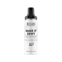 Фиксатор макияжа Milani Make It Dewy 3-in-1 Setting Spray Hydrate + Illuminate + Set (Объем 60 мл) rb stuart second marriage make it happy make it last
