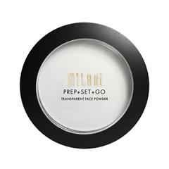 Компактная пудра Milani Prep + Set + Go Transparent Face Powder (Цвет Transparent Face Powder variant_hex_name EBECE7) prep a novel