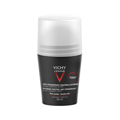 Дезодорант Vichy Homme Deodorant Extreme Anti Perspirant Roll On (Объем 50 мл)
