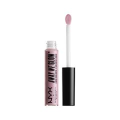 Хайлайтер NYX Professional Makeup Away We Glow Liquid Highlighter 02 (Цвет 02 State of Flux variant_hex_name D9B8C4) nyx professional makeup кремовый хайлайтер away we glow liquid highlighter state of flux 02