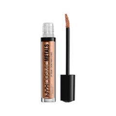 Жидкая помада NYX Professional Makeup Cosmic Metals Lip Cream 17 (Цвет 17 Metropolitan Night  variant_hex_name CC9577) chanel 5ml cc cc cream
