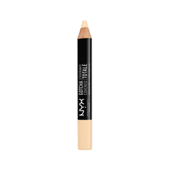 Консилер NYX Professional Makeup Gotcha Covered Concealer Pencil 01 (Цвет 01 Alabaster variant_hex_name F7DFB8) консилер nyx professional makeup concealer jar 00 alabaster цвет 00 alabaster variant hex name eccaa5