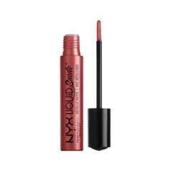 Жидкая помада NYX Professional Makeup Liquid Suede Metallic Matte 30 (Цвет 30 Bella variant_hex_name 973937)