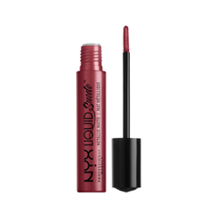 Жидкая помада NYX Professional Makeup Liquid Suede Metallic Matte 39 (Цвет 39 Modern Maven variant_hex_name 792336) nyx professional makeup матирующая тональная основа stay matte not flat liquid foundation light beige 015