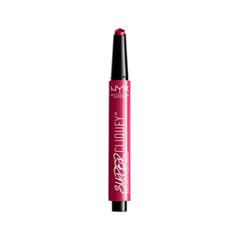 Помада NYX Professional Makeup Super Cliquey Matte Lipstick 05 (Цвет 05 Serpent variant_hex_name BF1F57) nyx professional makeup матовая помада velvet matte lipstick charmed 12