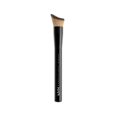 Кисть для лица NYX Professional Makeup Total Control Drop Foundation Brush цена