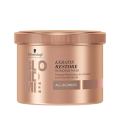 Маска Schwarzkopf BlondMe Keratin Restore Bonding Mask All Blondes (Объем 200 мл) маска shot keratin mask