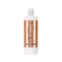 Шампунь Schwarzkopf BlondMe Keratin Restore Bonding Shampoo (Объем 1000 мл) blondme шампунь с кислым ph blondme shampoo all blondes 1000 мл