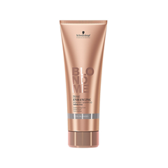 Шампунь Schwarzkopf BlondMe Tone Enhancing Cool Blondes Shampoo (Объем 250 мл) schwarzkopf blondme tone enhancing bonding shampoo cool blondes бондинг шампунь для холодных оттенков блонд 1000 мл