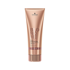 Шампунь Schwarzkopf BlondMe Tone Enhancing Warm Blondes Shampoo (Объем 250 мл) schwarzkopf blondme tone enhancing bonding shampoo cool blondes бондинг шампунь для холодных оттенков блонд 1000 мл
