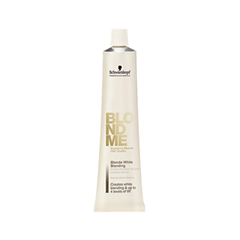 Перманентное окрашивание Schwarzkopf Осветляющий крем BlondMe White Blending Ice (Цвет Ice  variant_hex_name CCBB9D)