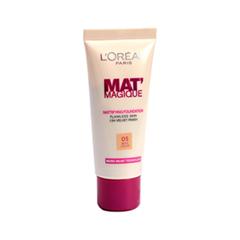 Тональная основа L'Oreal Paris Mat' Magique Mattifying Foundation (Цвет 05 Beige Cream)