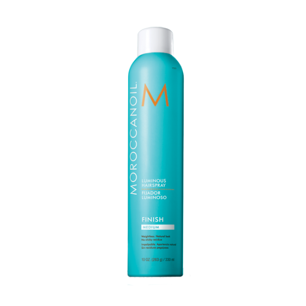 Стайлинг Moroccanoil Сияющий лак для волос эластичной фиксации (Объем 330 мл) moroccanoil шампунь для тонких волос экстра объем moroccanoil volume extra shampoo 1000 мл