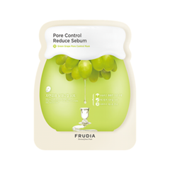 Маска Frudia Green Grape Pore Control Mask (Объем 27 мл) маска caolion pore blackhead eliminating t zone strip