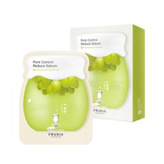 Маска Frudia Набор Green Grape Pore Control Mask (Объем 5*27 мл) акне frudia green grape pore control toner объем 195 мл