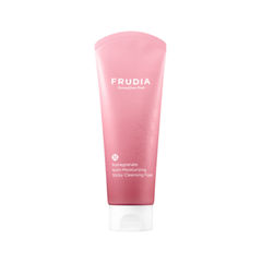 Антивозрастной уход Frudia Pomegranate Nutri-Moisturizing Sticky Cleansing Foam (Объем 145 г) пенка the face shop green tea phyto powder cleansing foam объем 170 мл