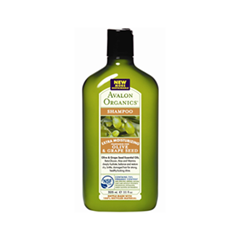 Шампунь Avalon Organics Olive  Grape Seed (Объем 325 мл)