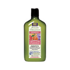 Шампунь Avalon Organics Grapefruit  Geranium Smoothing Shampoo (Объем 325 мл)