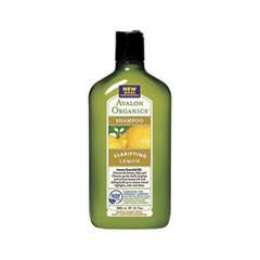 Шампунь Avalon Organics Lemon Clarifying Shampoo (Объем 325 мл) clarifying touch сыворотка корректор для сияния и цвета