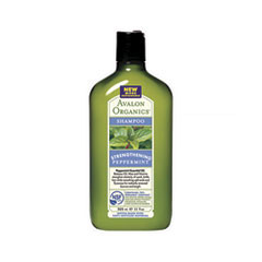 ������� Avalon Organics Peppermint Strengthening Shampoo (����� 325 ��)