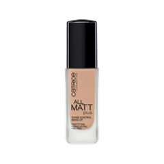 Тональная основа Catrice All Matt Plus Shine Control Make Up (Цвет Nude Beige №020 variant_hex_name D0A58B)