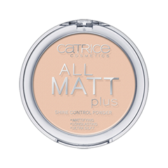 Пудра Catrice All Matt Plus Shine Control Powder (Цвет Transparent №010 variant_hex_name EBC7B1) пудра catrice healthy look mattifying powder 010 цвет 010 luminous light variant hex name facab6