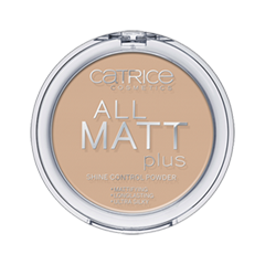 Пудра Catrice All Matt Plus Shine Control Powder (Цвет Warm Beige №030 variant_hex_name D0AE93) тональная основа catrice all matt plus shine control make up цвет nude beige 020 variant hex name d0a58b