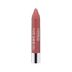 Цветной бальзам для губ Catrice Pure Shine Colour Lip Balm (Цвет Rose  Woody №010 variant_hex_name CA6B69)