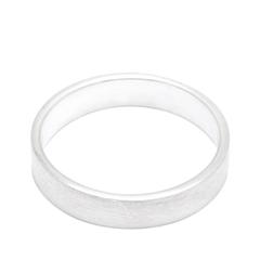 Кольца Aqua Матовое серебряное кольцо на верхнюю фалангу 15 (Размер 15) женские кольца jv женское серебряное кольцо с куб циркониями f 642r 001 wg 17 5