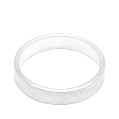 Кольца Aqua Матовое серебряное кольцо на верхнюю фалангу 17 (Размер 17) jv женское серебряное кольцо с куб циркониями sr01924czzsw 1 001 wg 17
