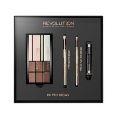 Набор для бровей Makeup Revolution HD Pro Brows