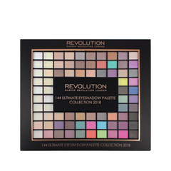Тени для век Makeup Revolution Ultimate 144 Eyeshadow Palette 2018 для глаз catrice the ultimate chrome collection eyeshadow palette