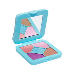 Для глаз Lime Crime Pocket Candy Palettes Bubblegum (Цвет Bubblegum variant_hex_name 62b5cd) zhou jianzhong ред oriental patterns and palettes cd rom