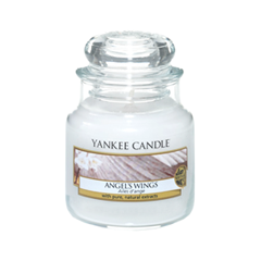 Ароматическая свеча Yankee Candle Angel Wings Small Jar Candle (Объем 104 г) свечи yankee candle свеча маленькая в стеклянной банке клубника со сливками strawberry buttercream 104гр 25 45 часов