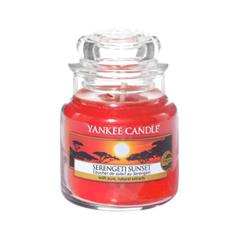 Ароматическая свеча Yankee Candle Serengeti Sunset Small Jar Candle (Объем 104 г) 104 мл кеды el tempo el tempo el072amaanf1