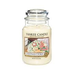 Ароматическая свеча Yankee Candle Christmas Cookie Large Jar Candle (Объем 623 г) ароматическая свеча yankee candle soft blanket large jar candle объем 623 г