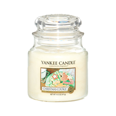 Ароматическая свеча Yankee Candle Christmas Cookie Medium Jar Candle (Объем 411 г)