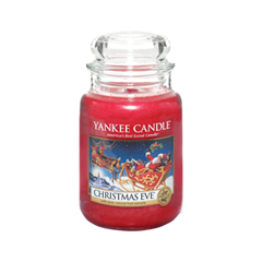 Ароматическая свеча Yankee Candle Christmas Eve Large Jar Candle (Объем 623 г) свеча корица колонна 80 60 мм фитиль парафиныч