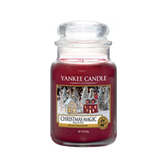 Ароматическая свеча Yankee Candle Christmas Magic Large Jar Candle (Объем 623 г) candle magic soft wicking 6 yards