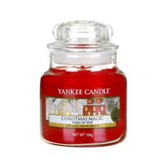 Ароматическая свеча Yankee Candle Christmas Magic Small Jar Candle (Объем 104 г) candle magic soft wicking 6 yards