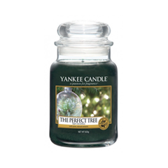 Ароматическая свеча Yankee Candle The Perfect Tree Large Jar Candle (Объем 623 г) ароматическая свеча yankee candle soft blanket large jar candle объем 623 г