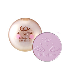 Babyface Petit Blusher 02 (Цвет 02 Pure Lavender variant_hex_name D9B8D1)
