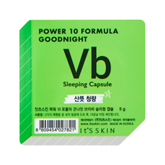 Маска It's Skin Power 10 Formula Goodnight Sleeping Capsule VB (Объем 5 г) 3d пазл торре де белем португалия cubicfun 46 деталей