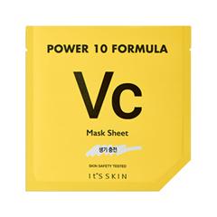 Тканевая маска It's Skin Power 10 Formula Mask Sheet VC (Объем 25 мл) тканевая маска vprove mask master cream sheet rhodiola объем 25 мл