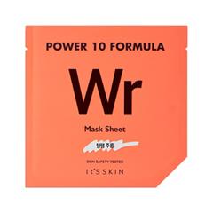 Тканевая маска It's Skin Power 10 Formula Mask Sheet WR (Объем 25 мл) тканевая маска vprove mask master cream sheet rhodiola объем 25 мл