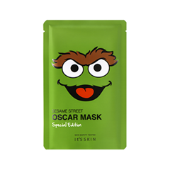 Тканевая маска It's Skin Sesame Street Mask Special Edition Oscar (Объем 20 мл) люстра colosseo 82406 4c oscar