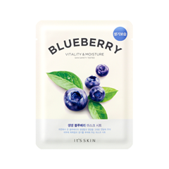 Тканевая маска It's Skin The Fresh Blueberry Mask Sheet (Объем 21 г) маска it s skin green tea watery mask sheet 1 шт