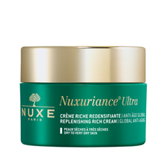 Крем Nuxe Nuxuriance Ultra Crème Riche Redensifiante Anti-Âge Global (Объем 50 мл) эмульсия nuxe merveillance expert fluide объем 50 мл