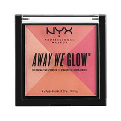 Away We Glow Illuminating Powder 04 (Цвет 04 Crushed Rose variant_hex_name aa4c5c)